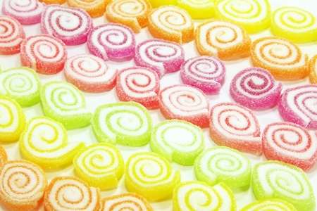 Gummy: Colorful Candy in a Large Pile as a Abstract