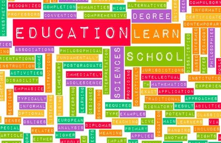 onderwijs: Onderwijssector en andere gerelateerde termen als kunst