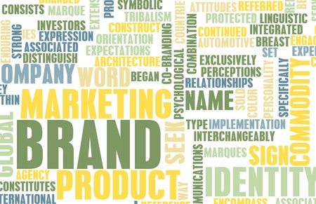 Brand Marketing for a Successful Product Concept Stock Photo - 8820654