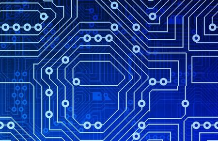 componentes: Textura de fondo de circuitos de equipo como un dise�o