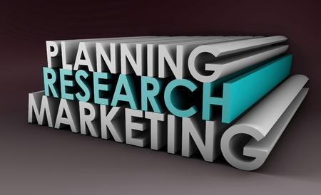 Marketing Strategy as a Concept in Business Stock Photo - 8845543