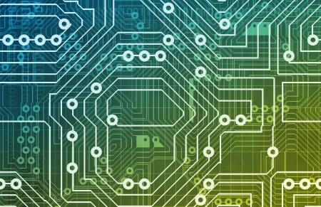 circuito integrado: Textura de fondo de circuitos de equipo como un dise�o