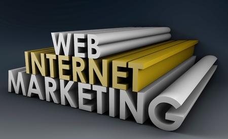 3D 형식의 웹 인터넷 마케팅