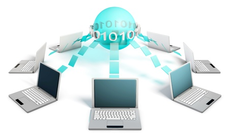 Internet Concept of a Global System and Business Stock Photo - 8898732