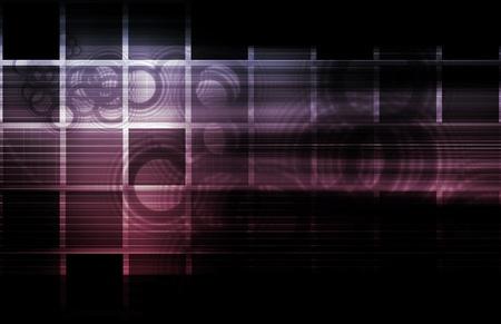 Futuristic Technology as a Next Generation Art photo