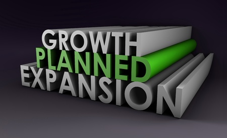 Planned Expansion and Growth of a Company Stock Photo - 8921117