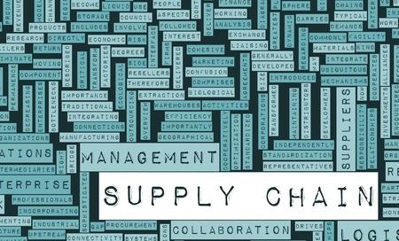 개념으로 공급망 관리 프로세스