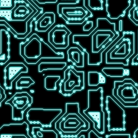 electronic circuit: Seamless Circuitry Background as a Texture Art