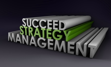 Successful Management Strategy as a 3d Art Stock Photo - 9022206