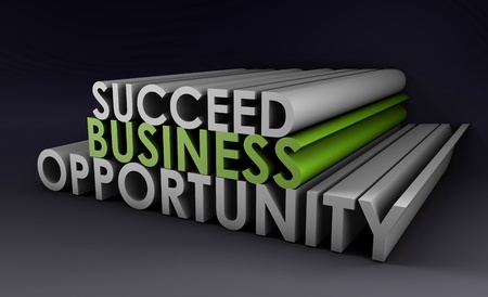 Business Opportunity and the Need to Succeed Stock Photo - 9235603