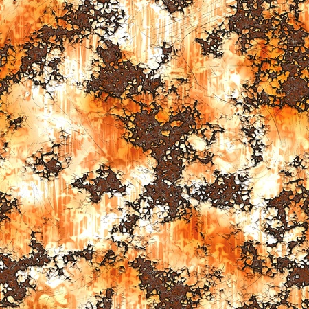 Rust Pattern Seamless Background on Metal Texture photo