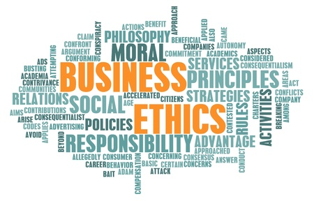 Business Ethics and Guidelines as a Concept Stock Photo - 9274202