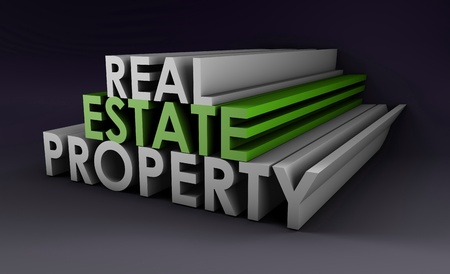 real estate investment: Real Estate Property in the Property Sector in 3d