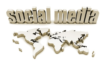 Social Media Platform For A Global Audience Stock Photo - 9300969