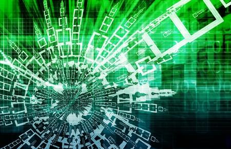video gaming: Digital Abstract Data Media As a Art