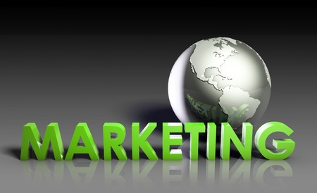 Global Marketing Strategy Campaign as a Art photo