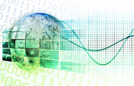 Global Business Technology Network as a Concept Stock Photo - 9322031