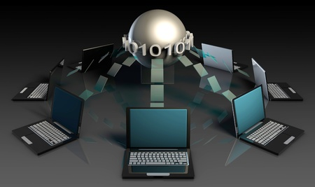 Data Mining Technology Strategy as a Concept Stock Photo - 9338977