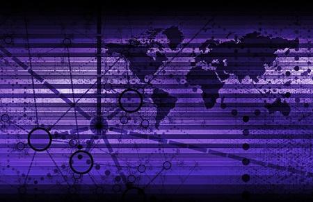 monitoreo: Tecnolog�a de seguridad de vigilancia como un arte Global