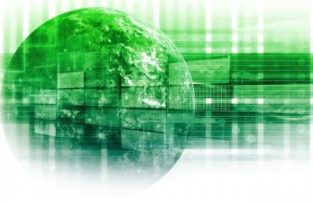 Information Technology-Datennetzwerk als System Standard-Bild - 9388273