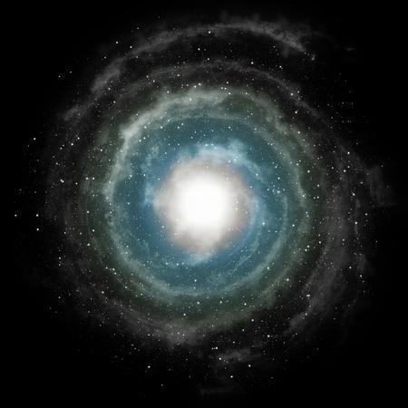 Energy Vortex Supernova als sterfster Stockfoto