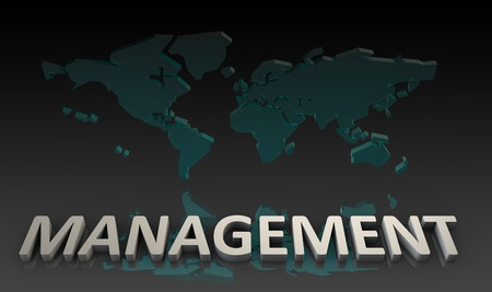 Management Skills in the Global Job Market Фото со стока