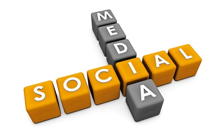 Social Media Interaction Technology on the Web Stock Photo - 9418180
