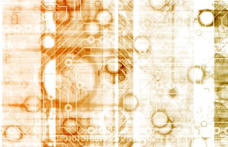 Information Technology or IT Infotech as a Art Stock Photo - 9418238