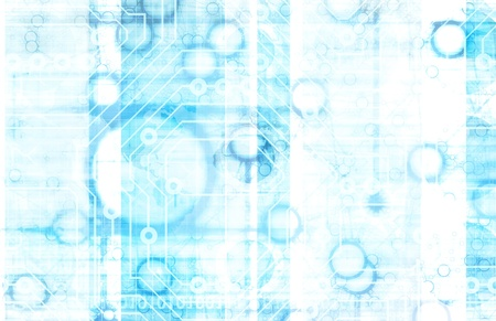 예술로 정보 기술 또는 IT 인포 스톡 콘텐츠