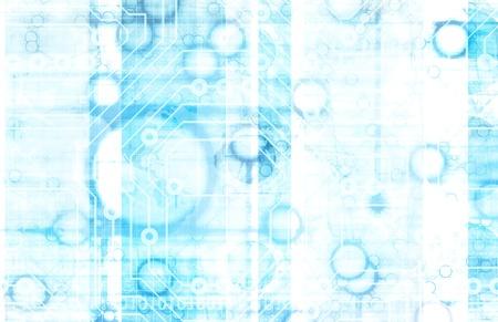 Information Technology or IT Infotech as a Art Standard-Bild