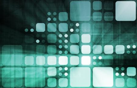Red del sistema de seguridad para la protección en línea de Web