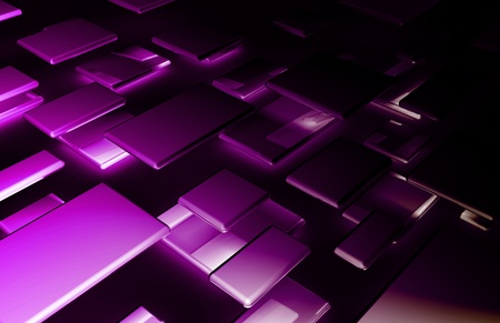 Abstract Background with a Technology Theme Art Stock Photo - 9443837