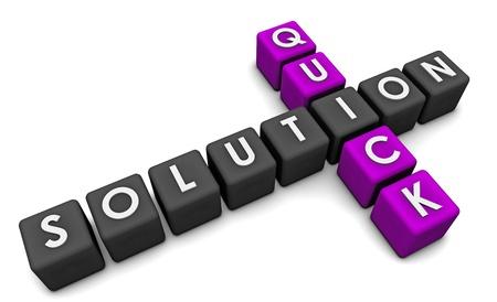 resolving: Soluzione rapida o Fix per risolvere un problema