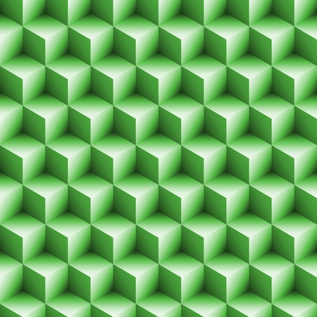 Seamless Blocks Background Art in 3d Cube photo