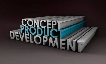 Product Development Step and Phase as Concept Stock Photo - 9478131
