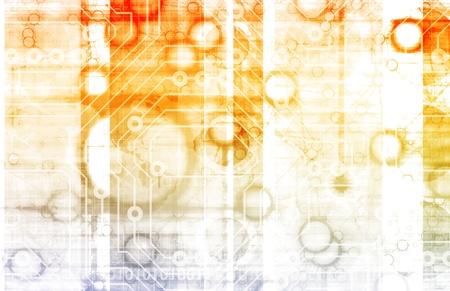 Information Technology or IT Infotech as a Art Stock Photo - 9478175