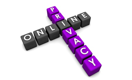 Online Privacy of your Data on the Web Stock Photo - 9592878