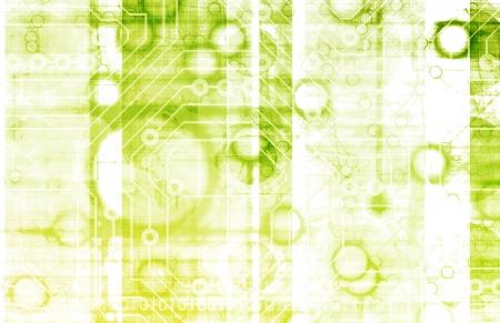 Medisch onderzoek en Corporate technologie als kunst Stockfoto - 9592909