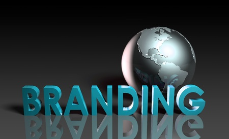 placement: Global Branding and Awareness of a Brand Name Stock Photo