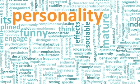 Personality Traits and Test as a Concept photo