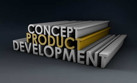 Product Development Step and Phase as Concept Stock Photo - 9704287