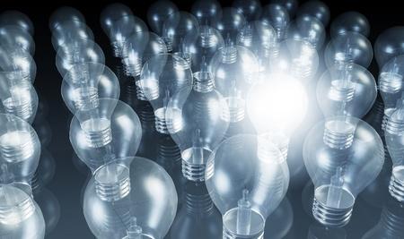 innovativ: Geschäftsinnovation in Vertrieb und Marketing-Kunst Lizenzfreie Bilder