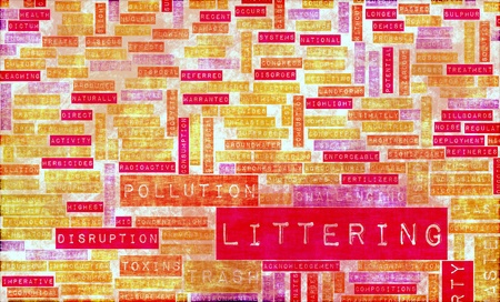 Littering and Pollution as a Social Problem Stock Photo - 9727252