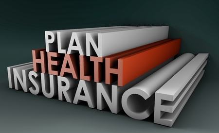 insurance policy: Health Insurance Plan Policy in 3D Art