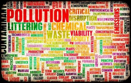 residuos toxicos: La contaminaci�n y ensuciando el problema Global como arte