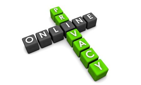웹상의 귀하의 데이터에 대한 온라인 개인 정보 보호 스톡 콘텐츠