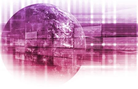Information Technology Data Network als System Standard-Bild - 9793839