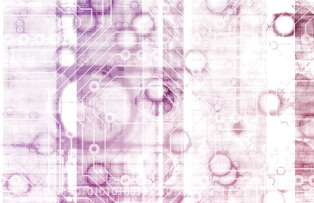 Information Technology or IT Infotech as a Art Stock Photo - 9842221