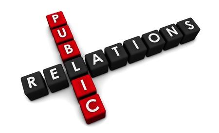 relations publiques: Public Relations Concept dans l'industrie du PR