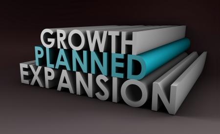 拡大: 計画的拡大と会社の成長